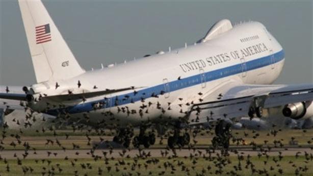 Máy bay 'ngày tận thế' của Mỹ tan tác vì gặp bão