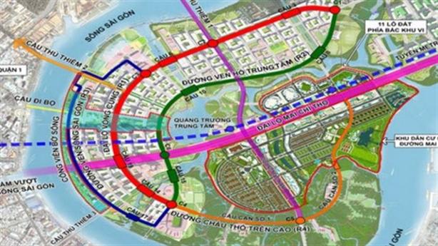 TP.HCM sẽ xây dựng cầu Thủ Thiêm 4