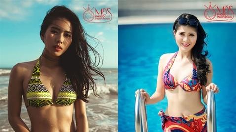 Dàn thí sinh Miss Photo 2017 siêu hot với bikini