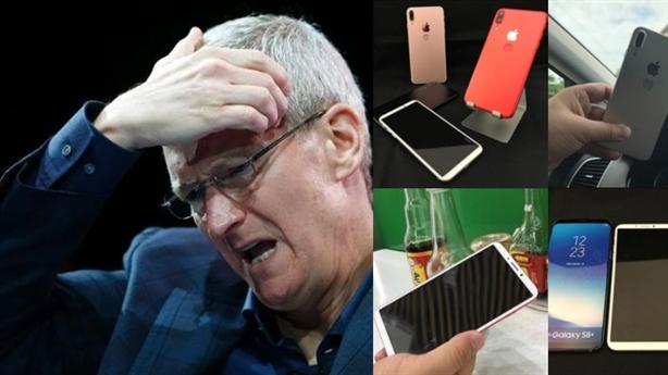 iPhone điêu đứng lãnh đòn hiểm từ Samsung, Trung Quốc
