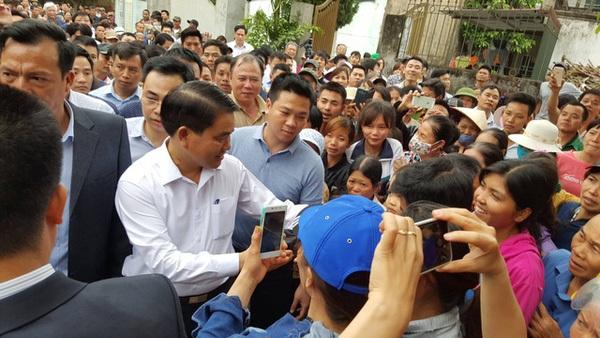 Rút dự án thu hồi đất tái định cư xã Đồng Tâm
