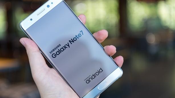 Samsung cao tay tính nước mới cho Galaxy Note 7