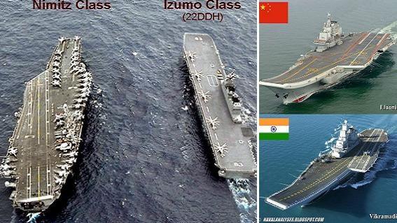 Malabar 2017: Ba tàu sân bay Mỹ-Nhật-Ấn răn đe Trung Quốc