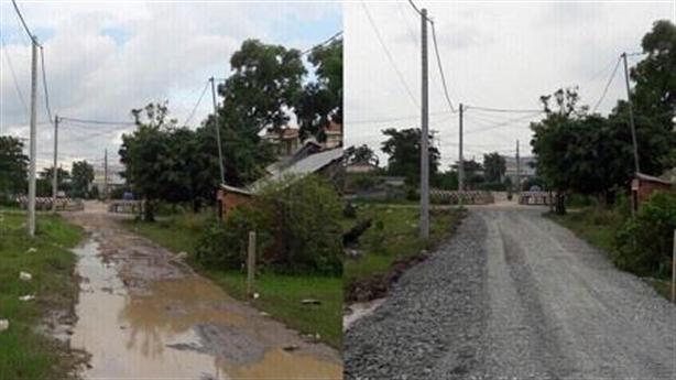 Dân tự sửa đường, xã phạt nóng 3triệu: Thông tin ngược