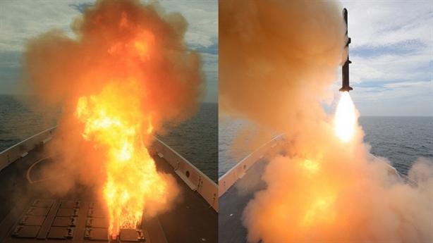 Type 054A bị đánh chìm khi chưa kịp khai hỏa