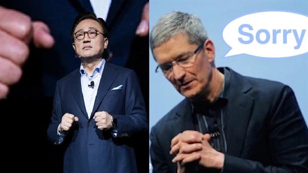 Trung Quốc khiến Apple mất niềm tin, Samsung ngồi chảo lửa