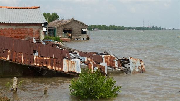 ĐBSCL đối diện 'án tử kép': Thủy điện và nước biển dâng