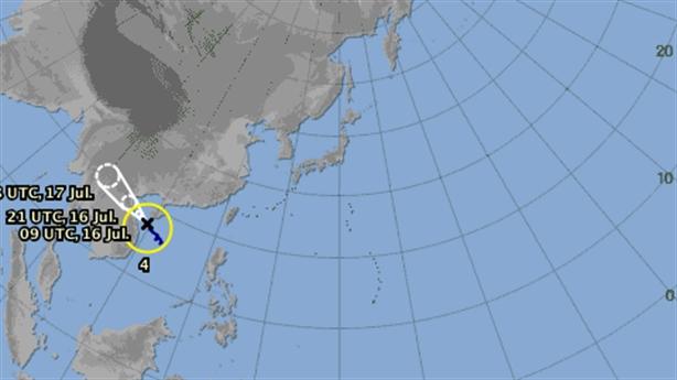 Tin mới bão số 2: Nhật dự báo hướng khác