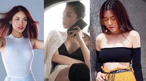 Mỹ nhân hạng A showbiz Việt ngày càng hở trên ngắn dưới