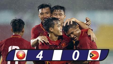 U22 Việt Nam thắng Đông Timor: Ông Hải lơ khen nức nở