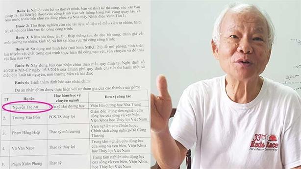 PGS.TSKH Nguyễn Tác An bị mạo danh: Đánh lừa dư luận?