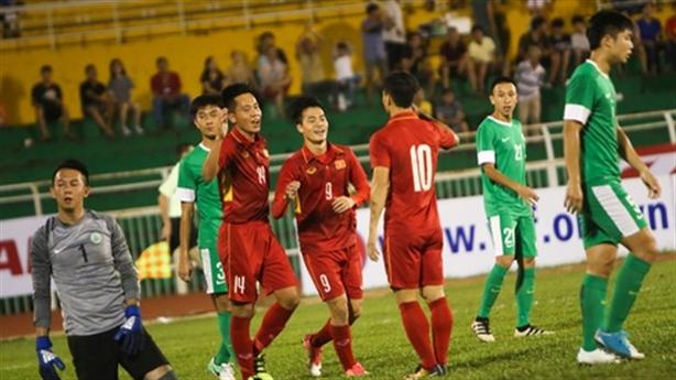 Đại thắng U22 Macau: HLV Hữu Thắng quyết không hòa Hàn Quốc