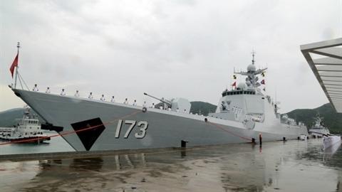 Trung Quốc mang tàu mạnh hơn Arleigh Burke tập trận với Nga
