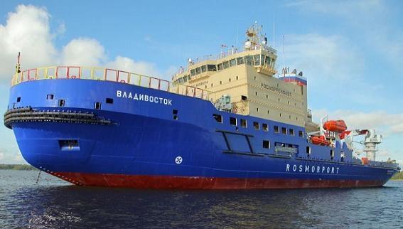 Tàu phá băng Nga có thể dùng laser xé toang tàu Mỹ?