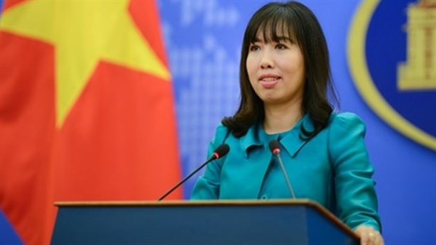 Việt Nam lên tiếng về hoạt động dầu khí ở Biển Đông