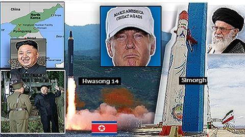 Mỹ lặng người khi Iran và Triều Tiên đồng loạt phóng ICBM