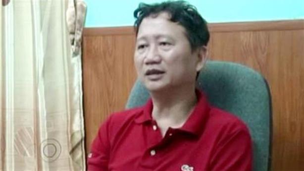 Ông Trịnh Xuân Thanh bị tạm giam