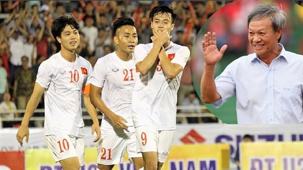 Ông Hải lơ chứng minh U22 Việt Nam gặt vàng