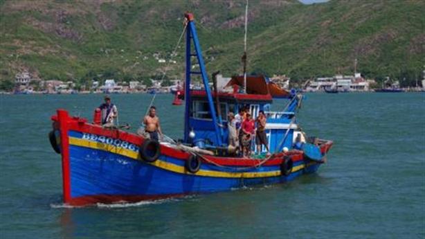 Thêm vụ tàu cá Bình Định gặp nạn khi đang hành nghề