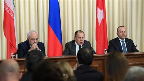 Bộ ba Nga-Thổ-Iran tung hoành Trung Đông