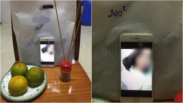 Chủ shop giải thích cúng sống cô gái bùng hàng online