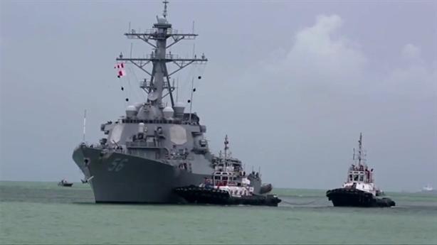 Quyết định sốc: Hải quân Mỹ dừng hoạt động toàn cầu