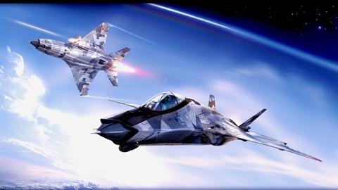 Tiêm kích MiG-41 đánh chặn mục tiêu siêu vượt âm