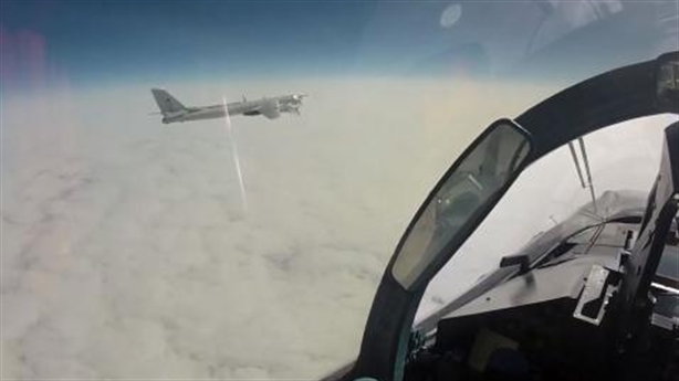 Mỹ phát sốt khi Su-35S Nga hộ tống Tu-95 áp sát Nhật-Hàn