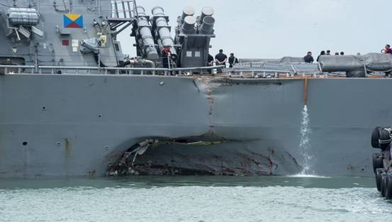 Mỹ bất an sau sự cố USS John S McCain bị đâm