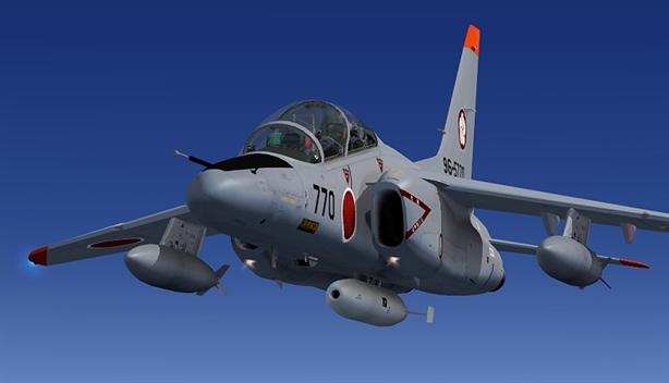 Máy bay T-4 Nhật xuất kích dò tìm phóng xạ hạt nhân