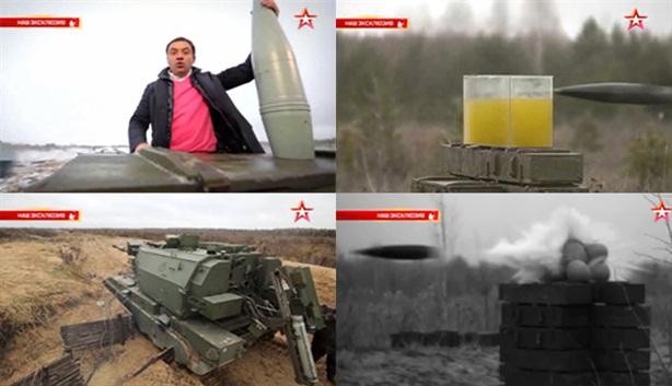 Phát bắn chính xác như súng bắn tỉa của pháo 152mm Nga