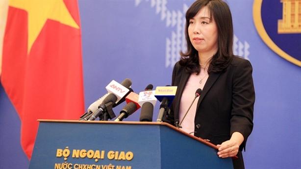 Việt Nam lên tiếng về kế hoạch Mỹ tuần tra Biển Đông