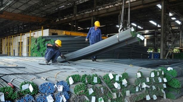 Chống bán phá giá thép Trung Quốc: Thép nội vẫn kêu...