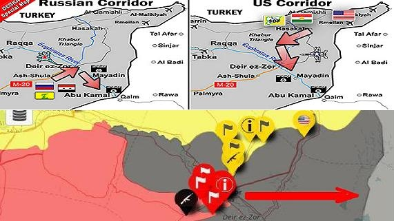 Đại chiến dầu mỏ Nga/SAA - Mỹ/người Kurd bên sông Euphrates