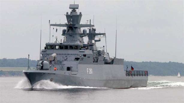 Đức phong tỏa Baltic với 5 chiến hạm mới