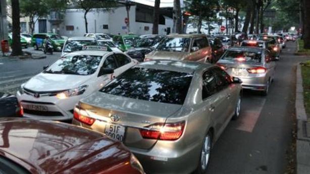 TP.HCM thu phí ôtô