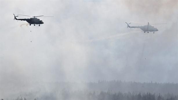 Siêu trực thăng Nga nã đạn nhầm đồng đội tại Zapad-2017