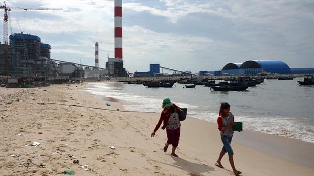 Hải sản biển Vĩnh Tân chết bất thường: Sở TN-MT điều tra