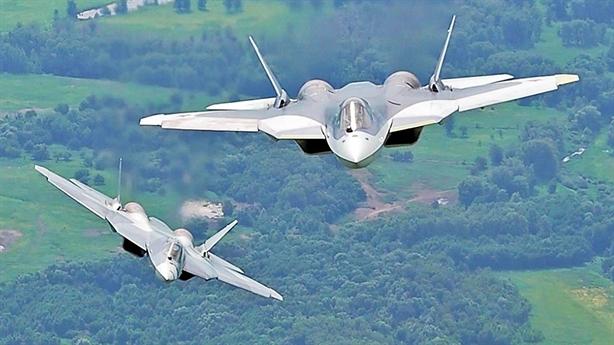 Mỹ mất phương hướng trước tác chiến điện tử của Su-57
