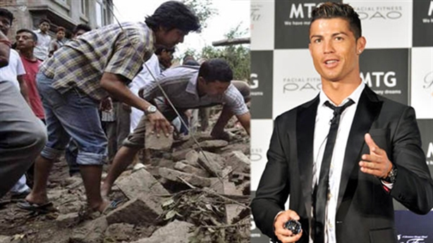 Ronaldo bị bóc phốt chuyện quyên tiền từ thiện