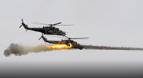 Trực thăng Nga lại gục ngã trước TOW?