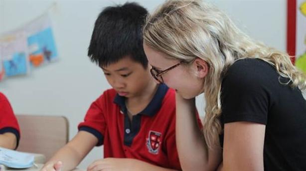 Giáo sinh Trường Đại học Liên bang Úc tại Trường Pascal