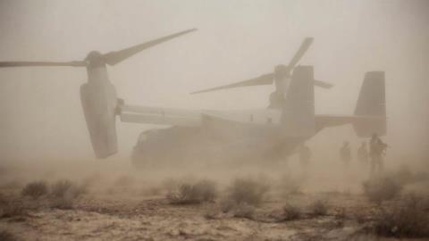V-22 Osprey Mỹ rơi tại Syria