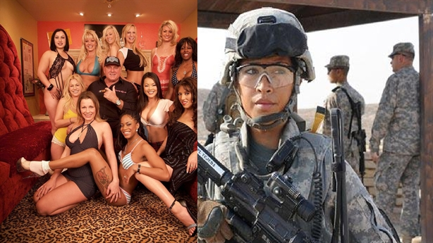 Nữ binh sĩ Mỹ bỏ nghề làm gái mại dâm chống đói