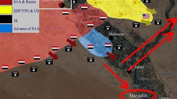 Syria đánh Mayadin, đòn cực hiểm xoay chuyển cục diện Deir Ezzor