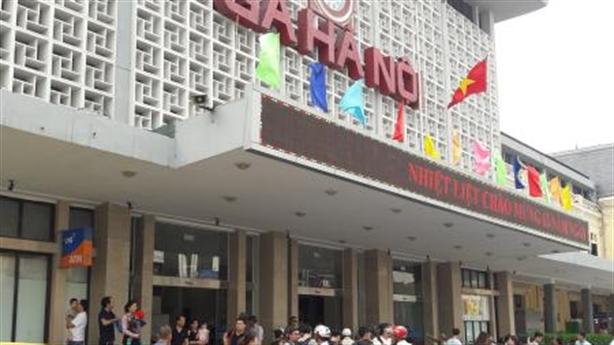 Xây nhà 40-70 tầng tại ga Hà Nội: Sẽ ý kiến riêng