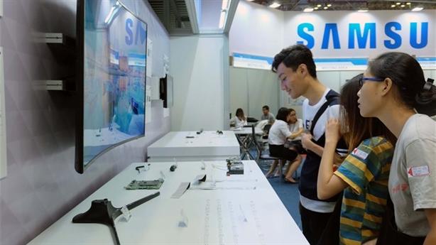 DN Việt chưa làm được linh kiện, Samsung khuyên tự tin