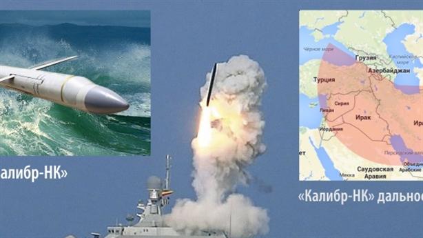 Nga sử dụng bao nhiêu tên lửa hành trình Kalibr ở Syria?