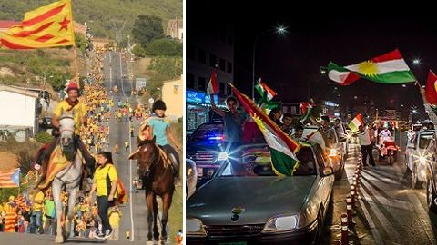 Kurdistan's - Catalonia: Một con đường, hai số phận