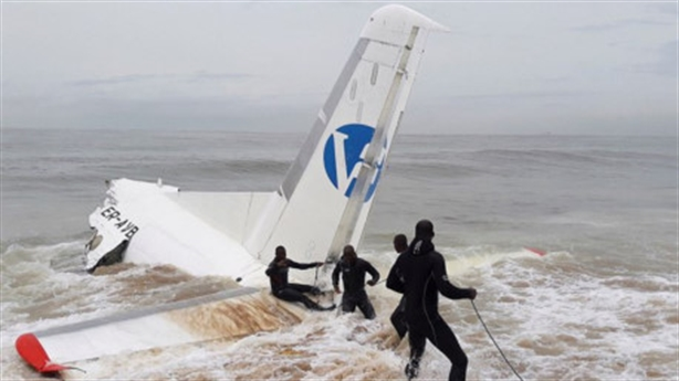 Máy bay Nga chở hàng cho Pháp gặp nạn